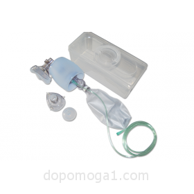Manual resuscitator (AMBU bag)